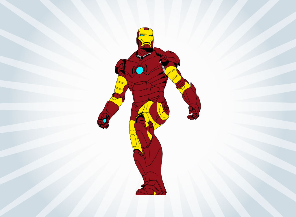 1024x750 Vector Iron Man