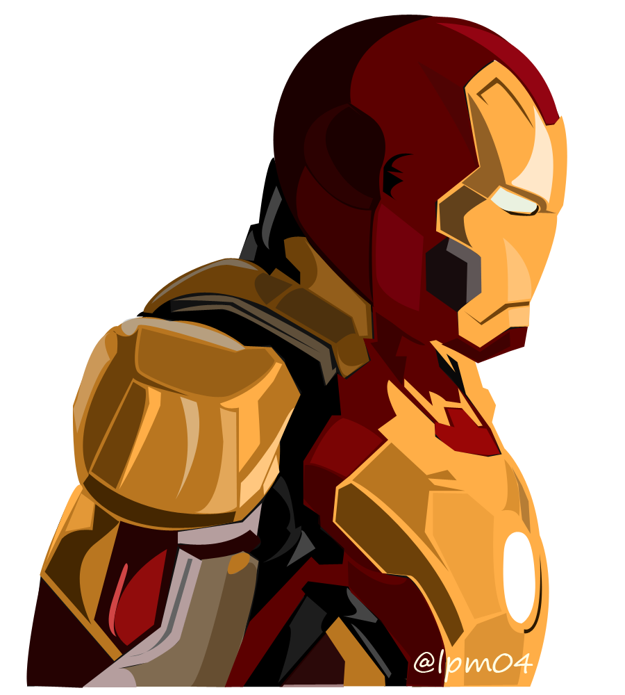 900x1000 Fan Art Iron Man Vector Illustration Art Of Angel Lea