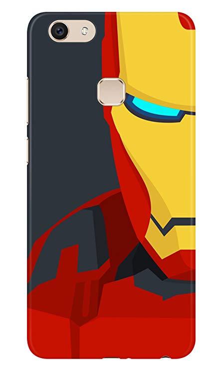 445x741 Highbrow Iron Man Vector Art 3d Printed Stylish Plastic Amazon.in