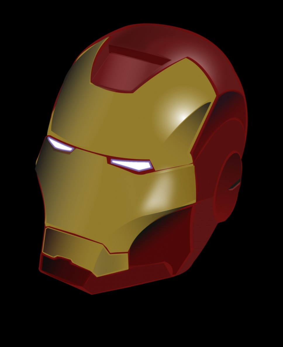 968x1186 Iron Man Helmet Vector Drawing Geekchicpro
