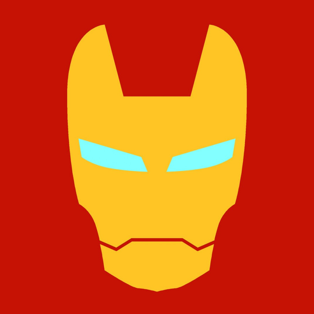 1072x1072 Iron Man Logo Vector Art Geekchicpro