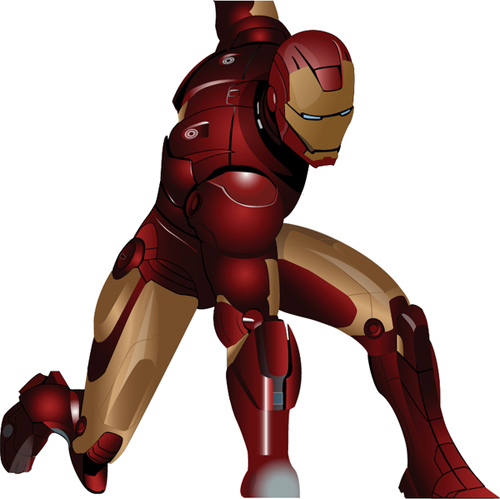 500x499 Iron Man Posters And Illustrations Graphics Design Design Blog