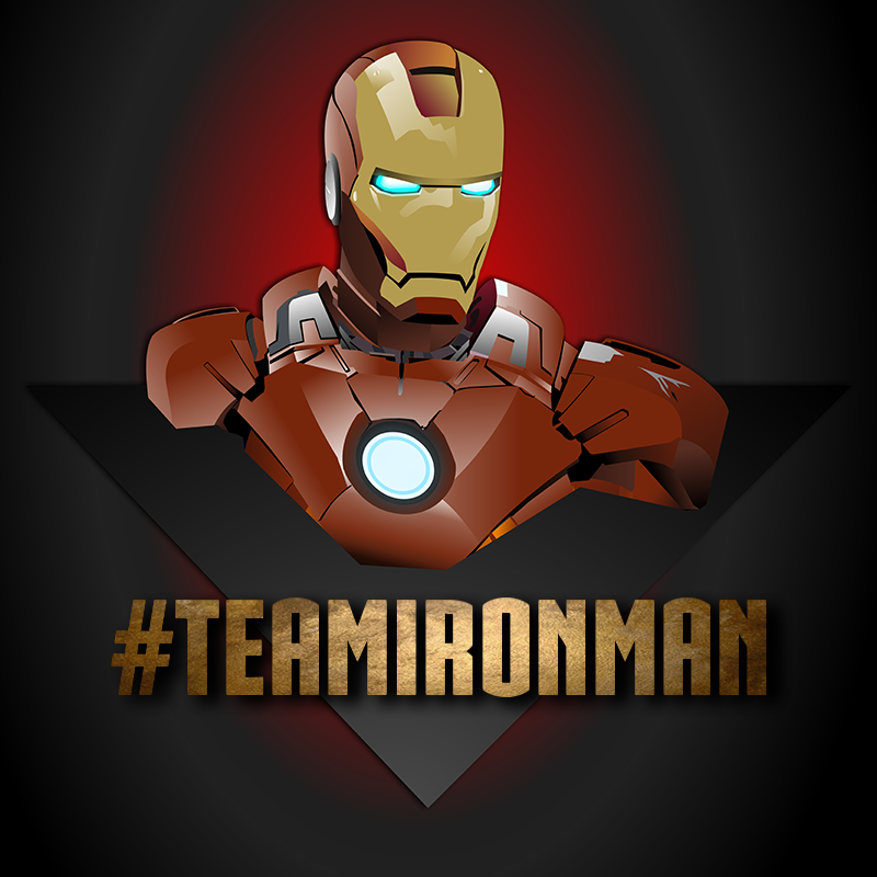 800x800 Iron Man Vector Art On Behance