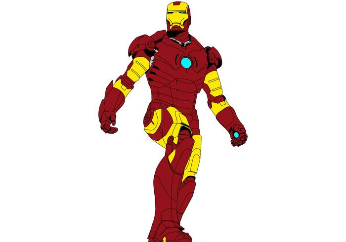 700x490 Iron Man Vector Superhero