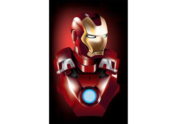 700x490 Iron Man Vector Superhero Free Vector Art