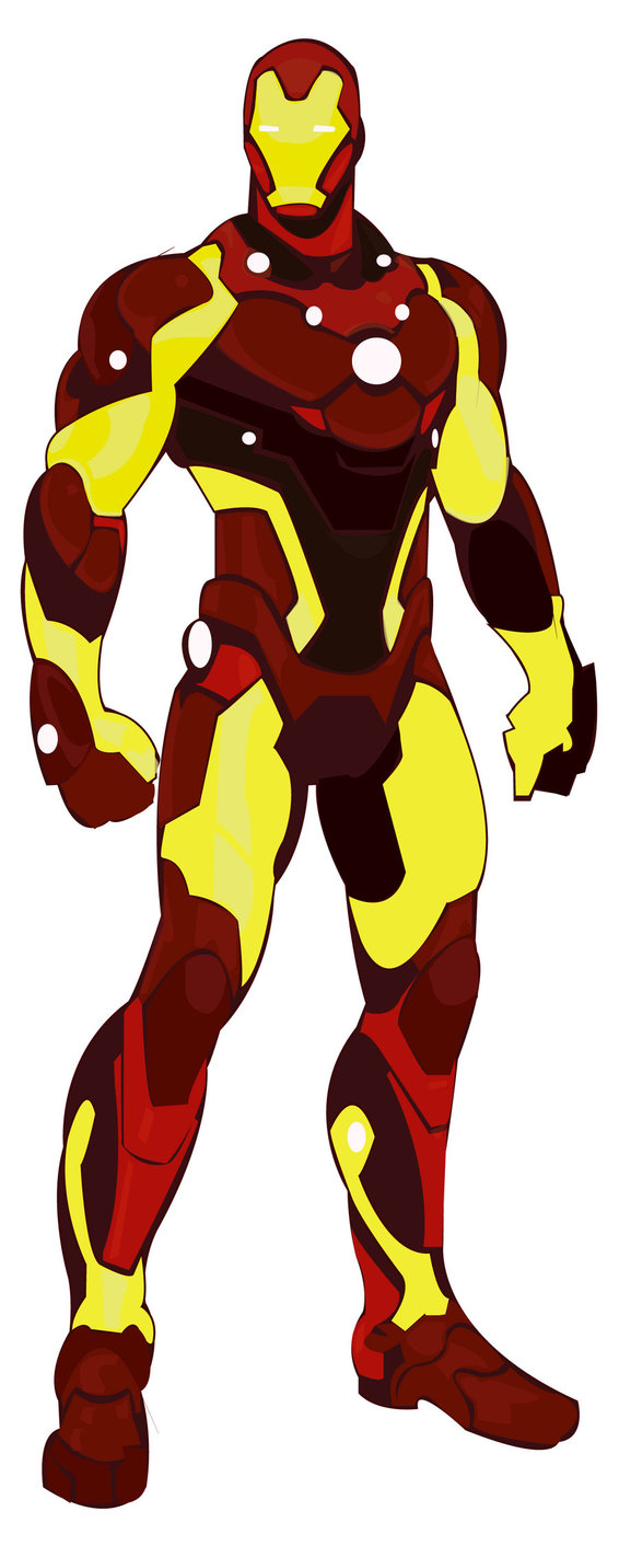566x1412 Iron Man Vector By 10vecesdnl