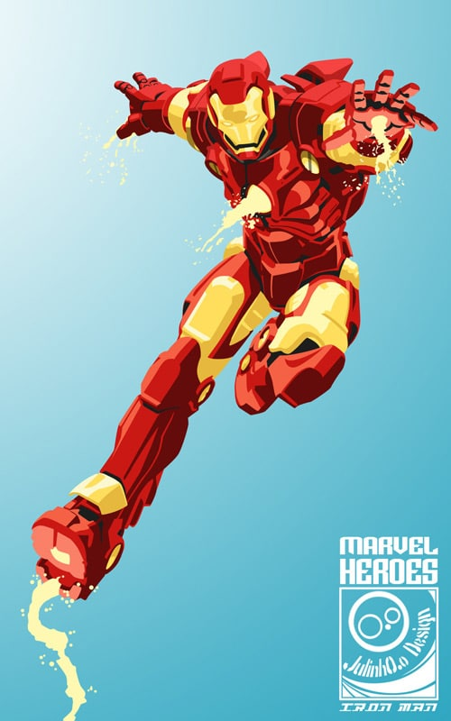 500x800 Comic Book Inspired Vector Artwork