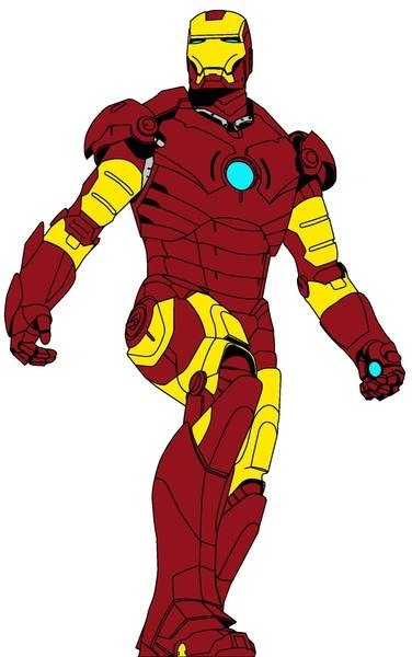 376x600 Ironman Free Vector In Adobe Illustrator Ai ( .ai ) Vector