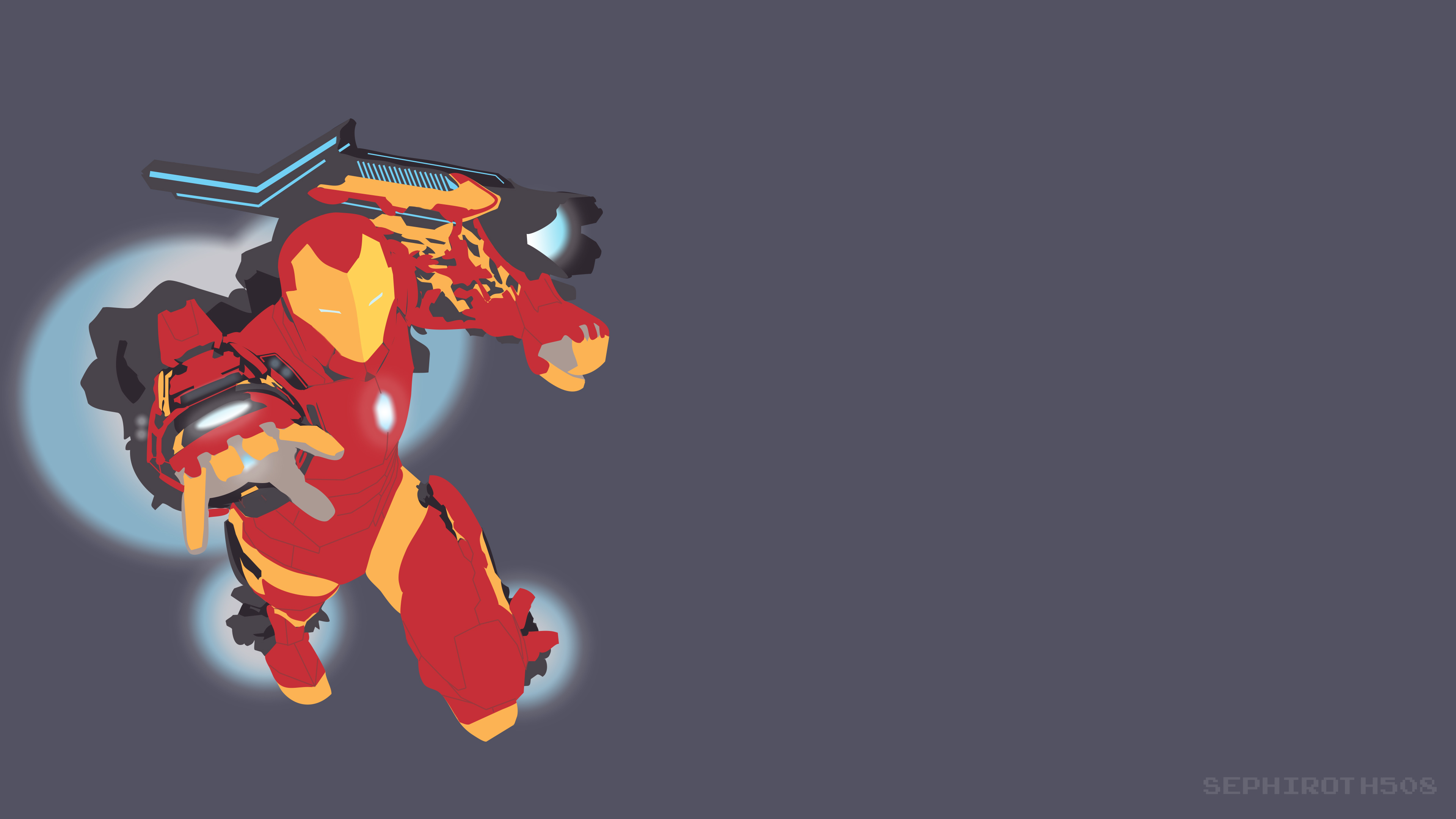 3840x2160 Wallpaper Iron Man Vector 5k 4k Wallpapers, 5k Wallpapers, Artist