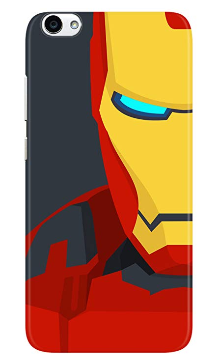 444x741 Highbrow Iron Man Vector Art 3d Printed Stylish Plastic Amazon.in