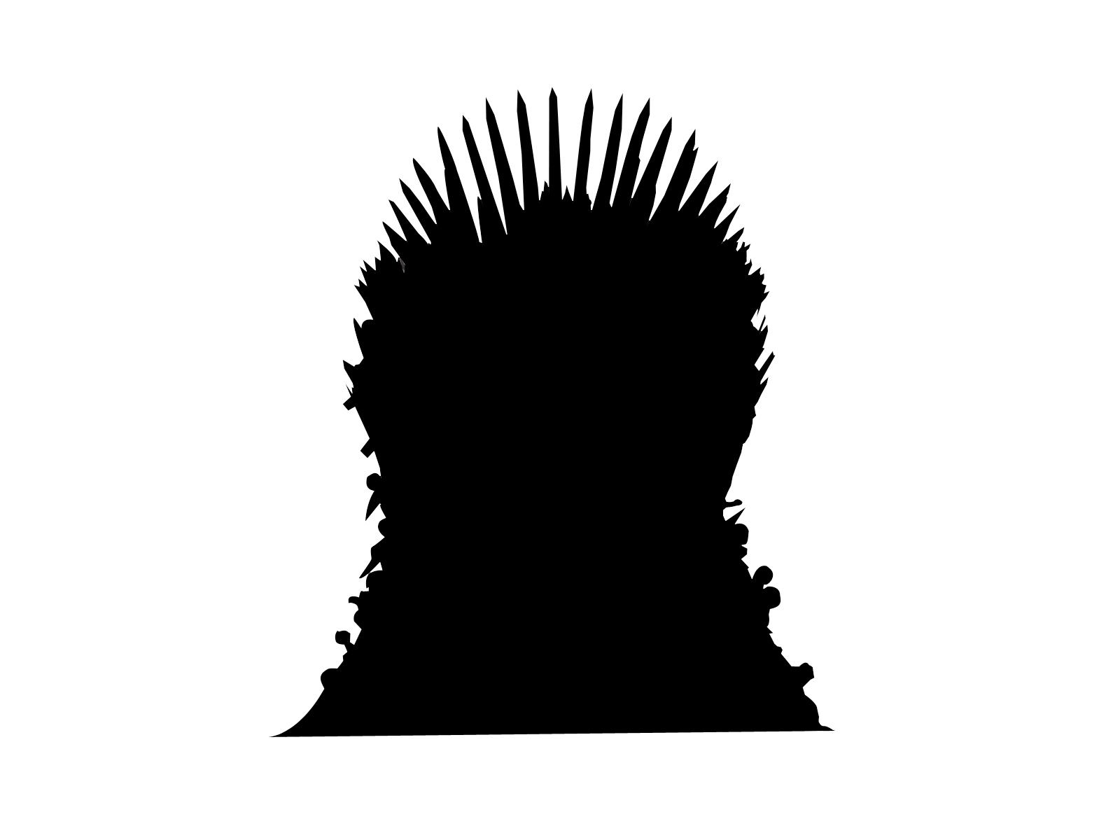 1600x1200 O] Iron Throne Game Of Thrones, Iron Throne Stenciltemplates