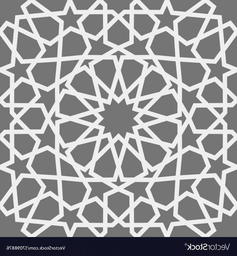 775x837 Islamic Vector Octagon Design Clip Art