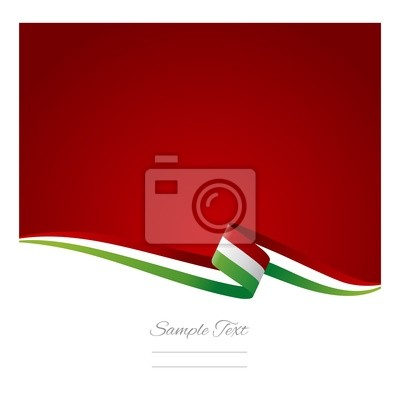 400x400 Abstract Color Background Italian Flag Vector Permanent Wall Mural