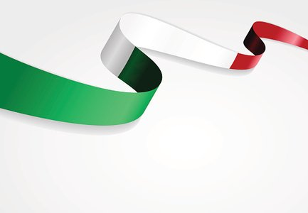 433x300 Italian Flag Vector Illustration Stock Vectors