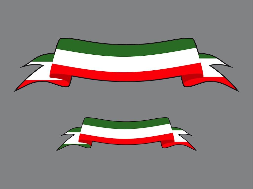 1024x768 Italian Ribbons