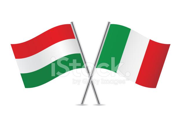 626x440 Hungarian And Italian Stock Vector