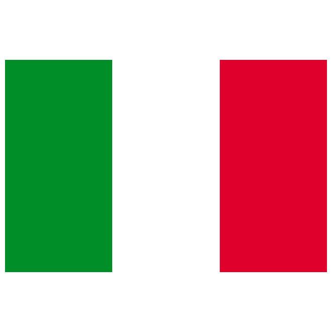 660x660 Italian Flag Vector