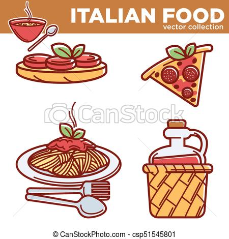 450x470 Italian Cuisine Traditional Food Dishes Food Pizza, Pasta, Vector