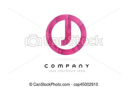 450x305 J Letter Logo Design With Circular Purple Pattern. J Letter Logo