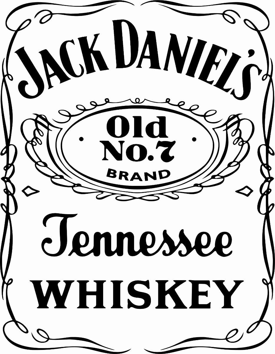 Jack Daniels Label Vector