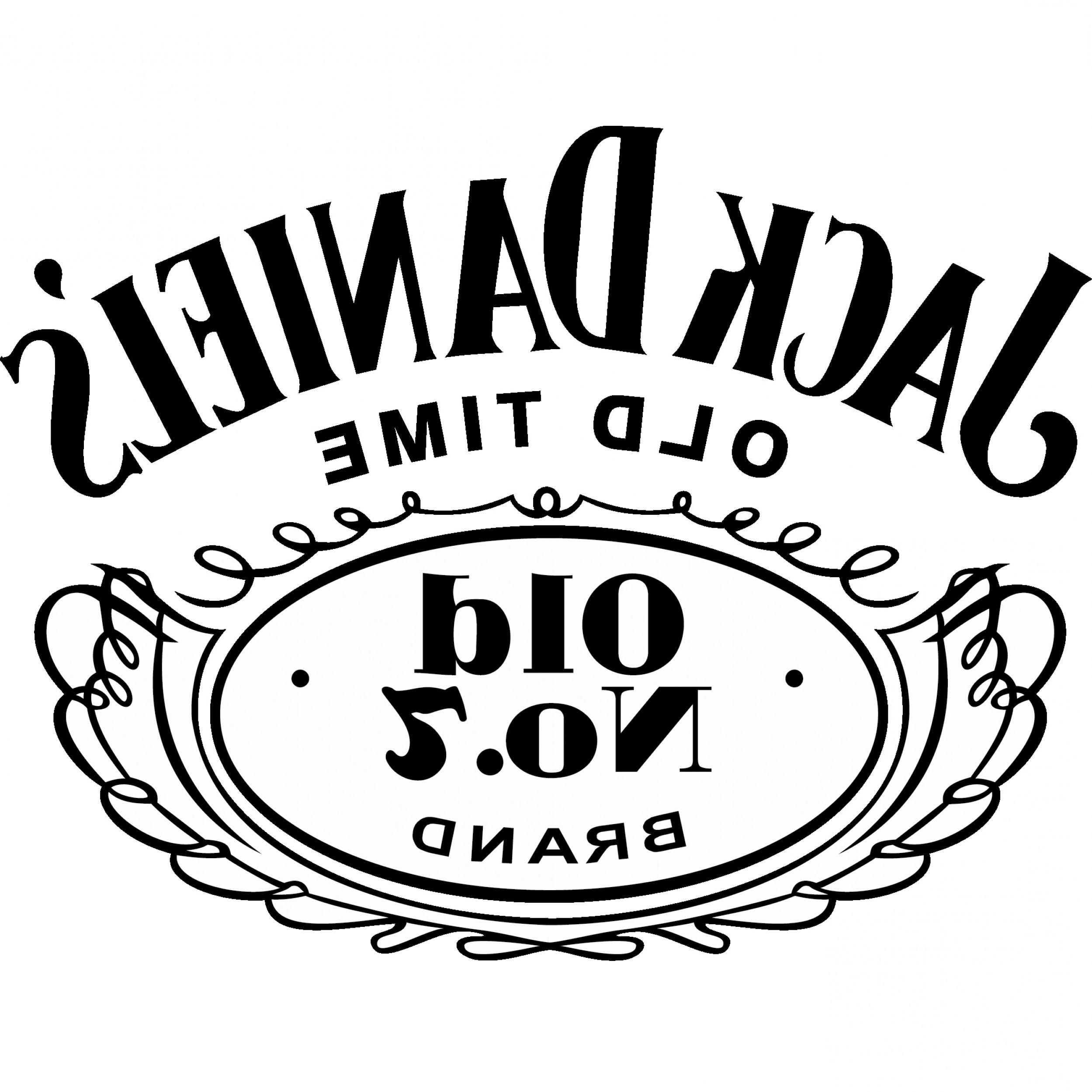Jack Daniels Vector At GetDrawings