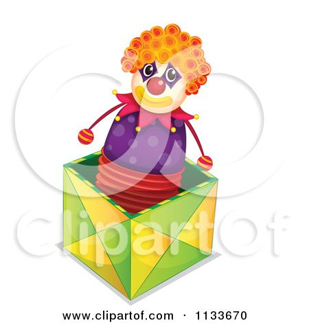 450x470 Clipart Jack In The Box Toy