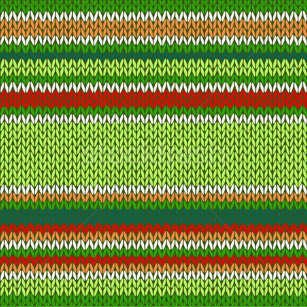 600x600 Seamless Knitted Pattern. Style Knit Woolen Jacquard Ornament Te