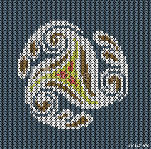 500x492 Seamless Knitted Background