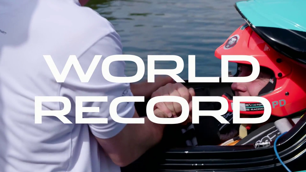 1280x720 Jaguar Vector Racing Electric Powerboat World Record