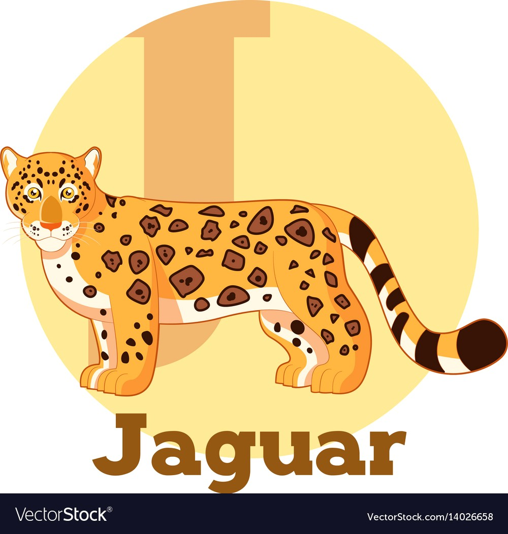 1000x1052 Abc Cartoon Jaguar Vector 14026658 15
