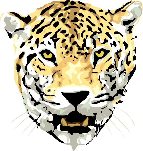 563x594 Jaguar Clip Art Free Vector In Open Office Drawing Svg ( .svg