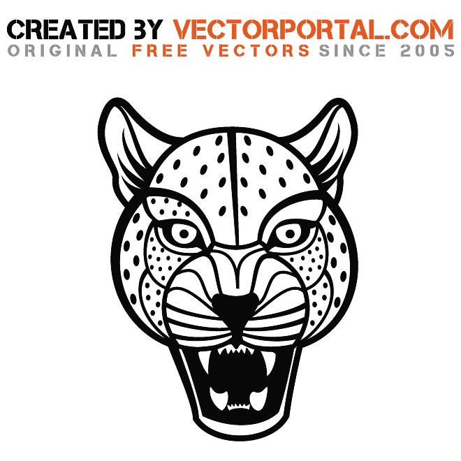 660x660 Jaguar Vector Graphics By Vectorportal