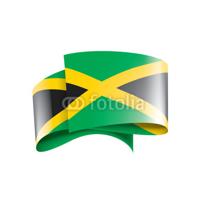 400x400 Jamaica Flag, Vector Illustration On A White Background Buy