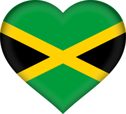 250x227 Jamaica Flag Vector