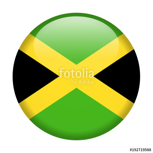 500x500 Jamaica Flag Vector Round Icon Stock Image And Royalty Free