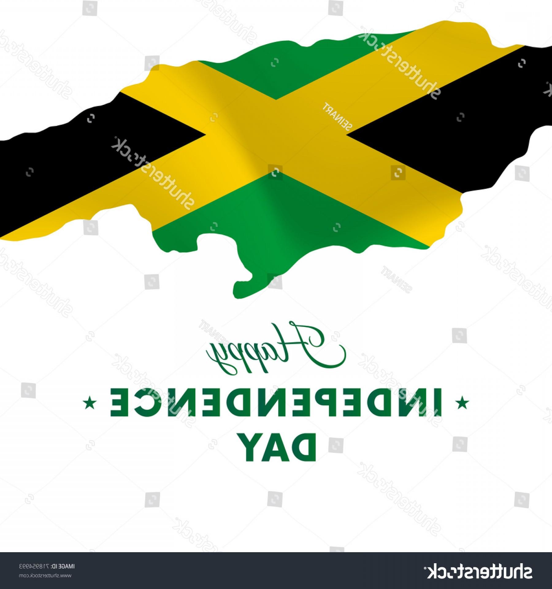 1800x1920 Jamaica Independence Day Map Vector Illustration Sohadacouri