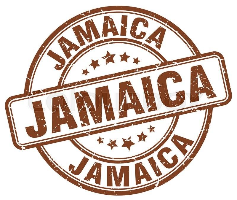 800x674 Jamaica Brown Grunge Round Vintage Rubber Stamp.jamaica Stamp