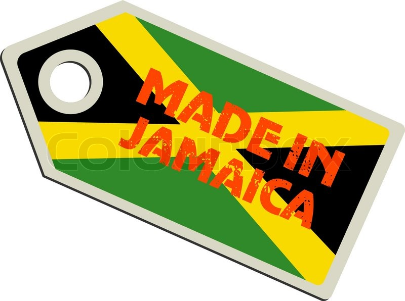 800x596 Vector Label Made In Jamaica Stock Vector Colourbox