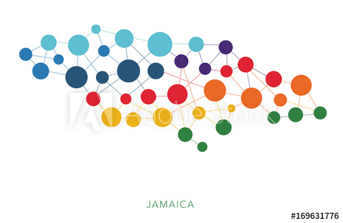 500x326 Dotted Texture Jamaica Vector Background