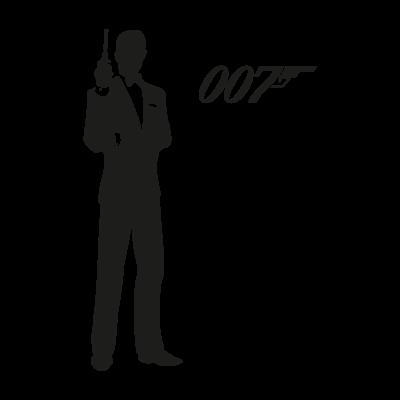 400x400 James Bond 007 Vector Download Free Vector
