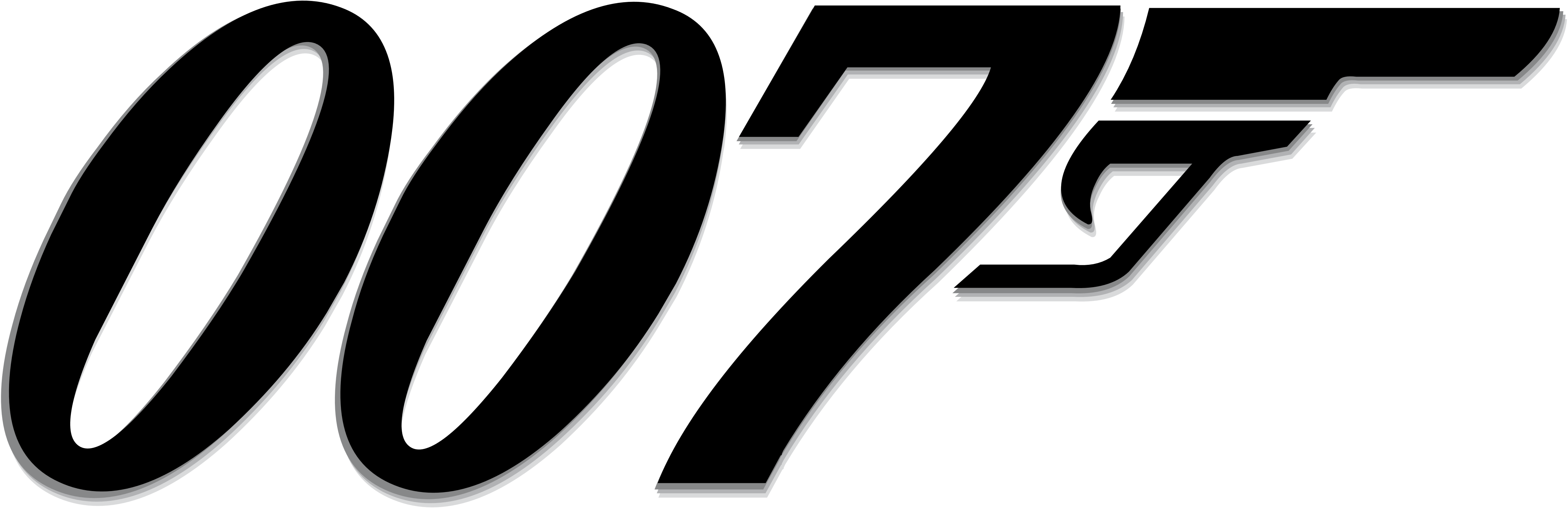 5000x1619 James Bond 007 Logos Download