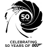 195x195 007 40th Anniversary Brands Of The Download Vector