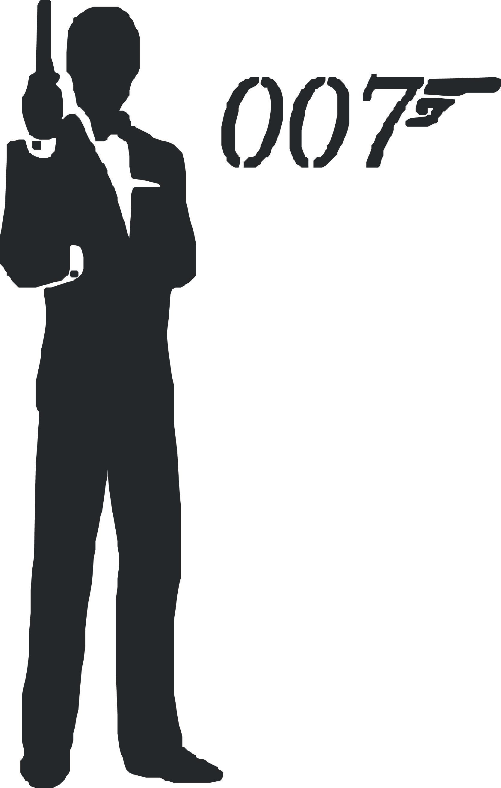 1672x2629 James Bond Logo Vector