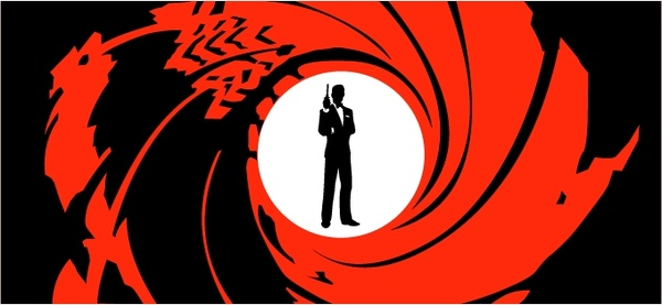 600x277 James Bond 007 0 Free Vector In Encapsulated Postscript Eps ( .eps