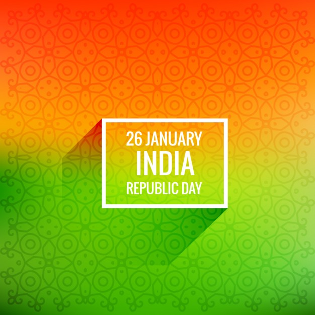 626x626 26 January Republic Day Vector Free Download