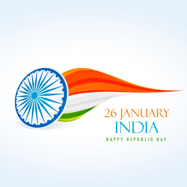 626x626 26 January Republic Day Of India Vector Free Download