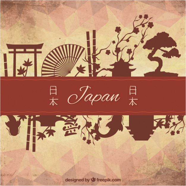 626x626 Cultural Elements Of Japan Vector Free Download