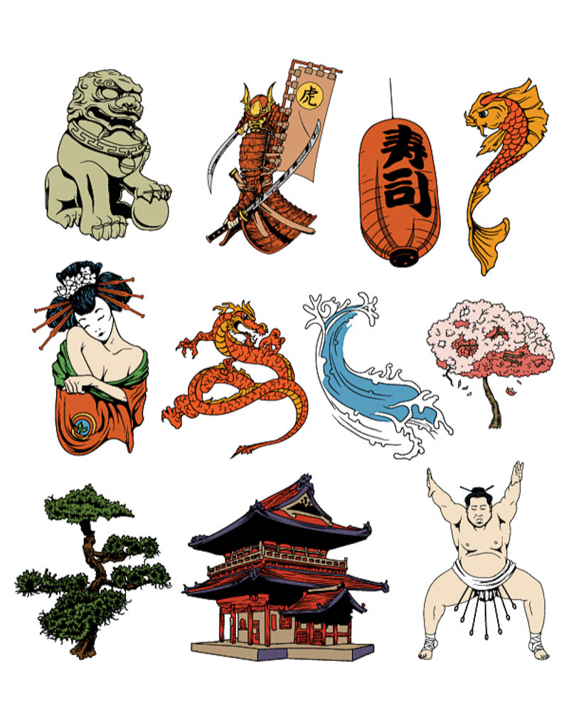 800x1000 Japan Vector Clip Art Vector Graphics Blog