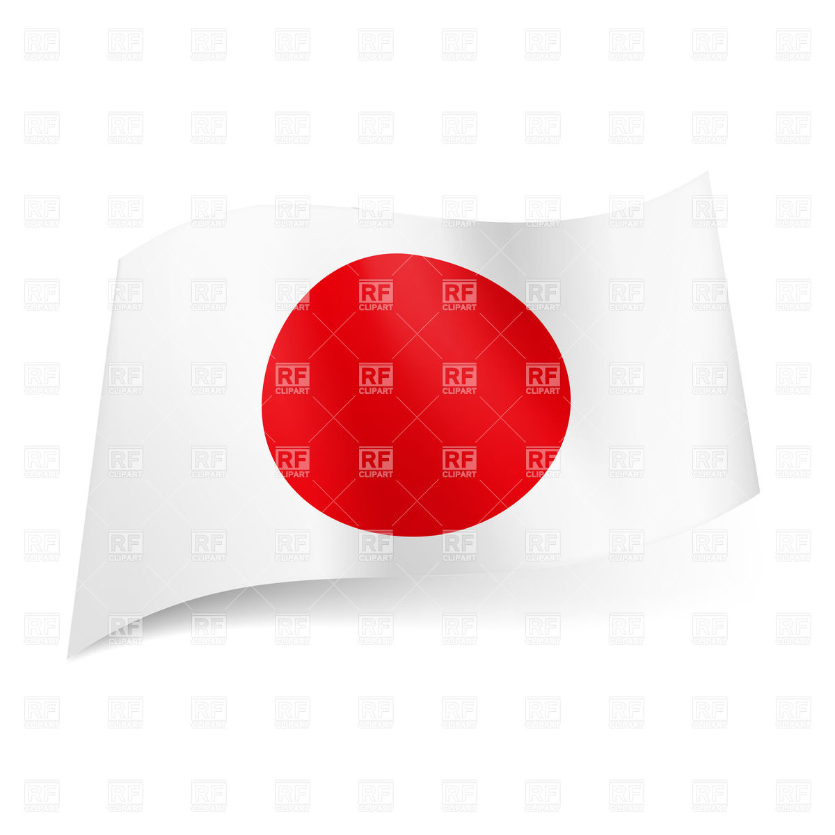 1200x1200 National Flag Of Japan Vector Image Vector Artwork Of Signs
