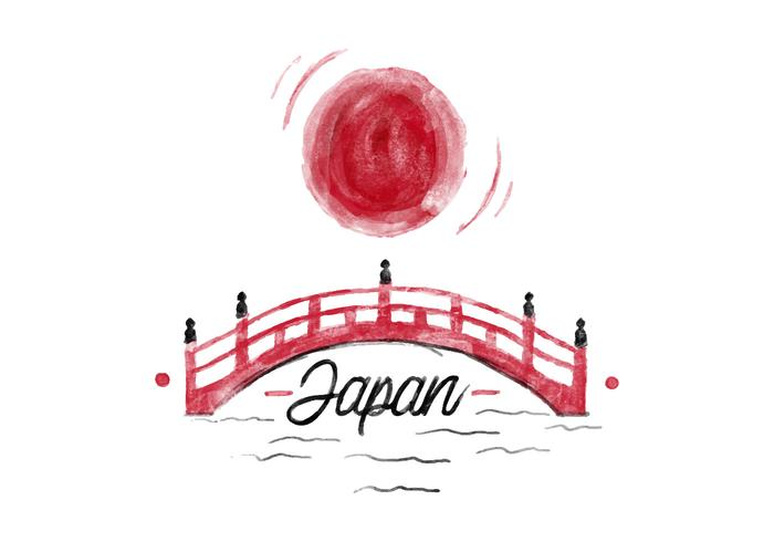700x490 Free Japan Watercolor Vector